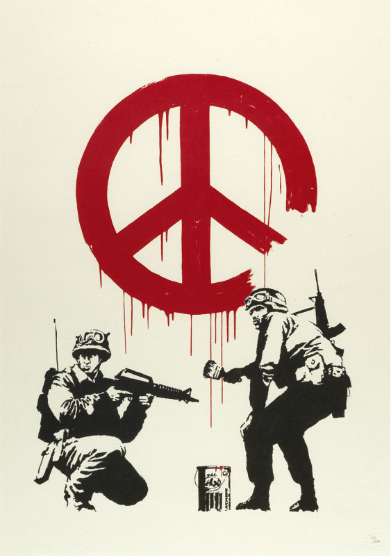 Banksy, CND Soldiers