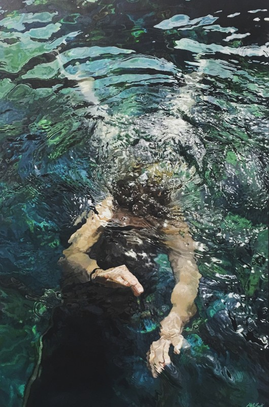 Abi Whitlock, Emerald Waters, 2018