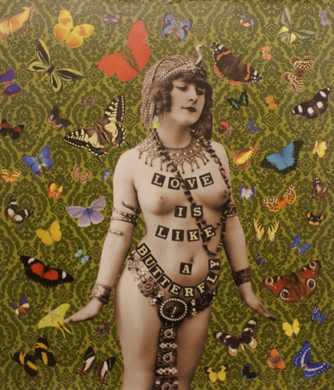 William Blanchard, Love is like a Butterfly (Green) 2015