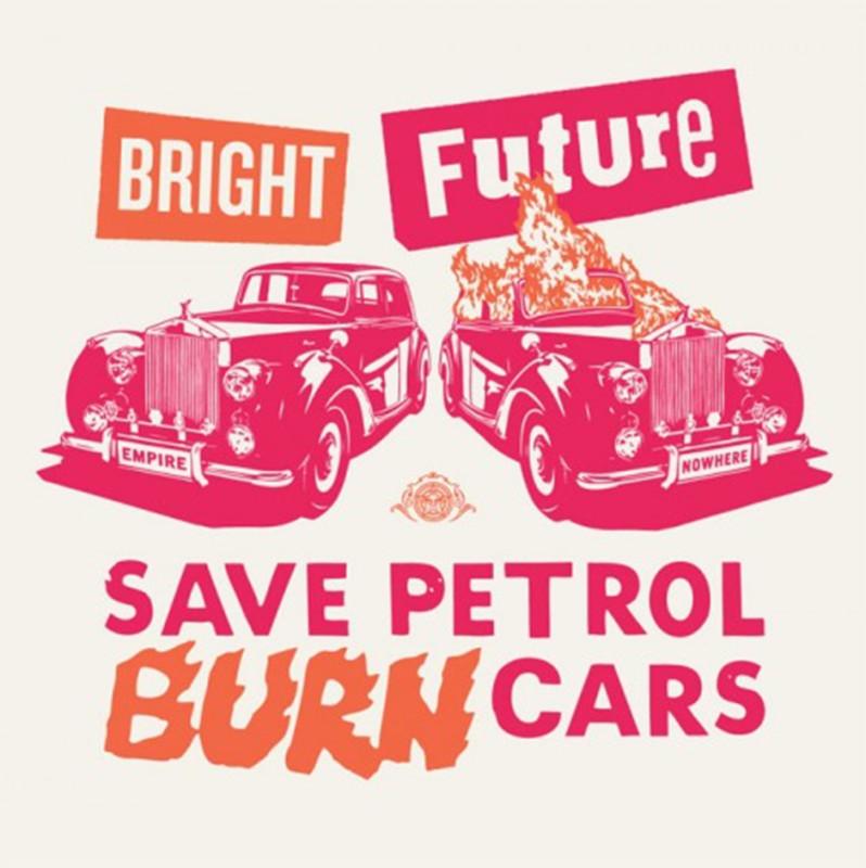 Jamie Reid & Shepard Fairey (OBEY), Bright Future - Pink