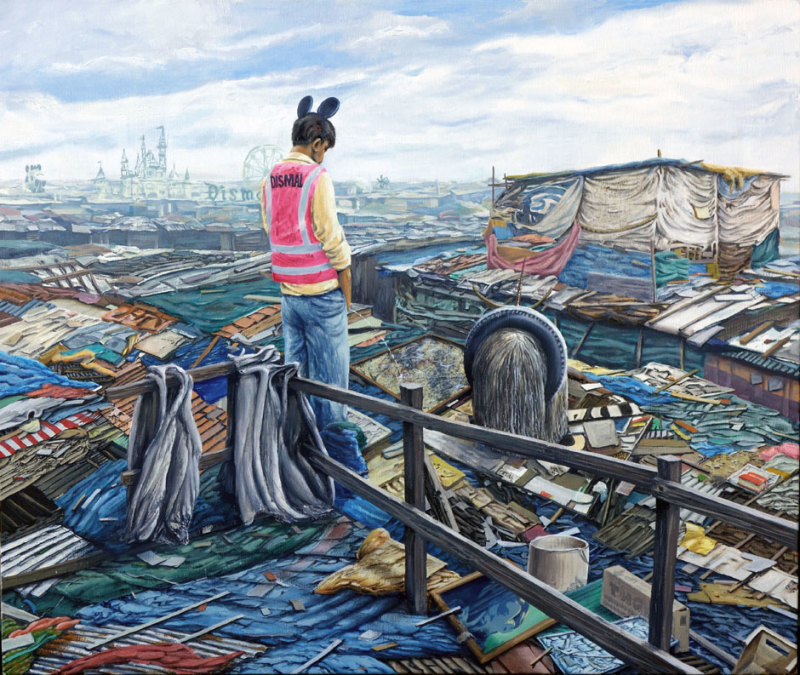 Jeff Gillette, Transition Dismaland