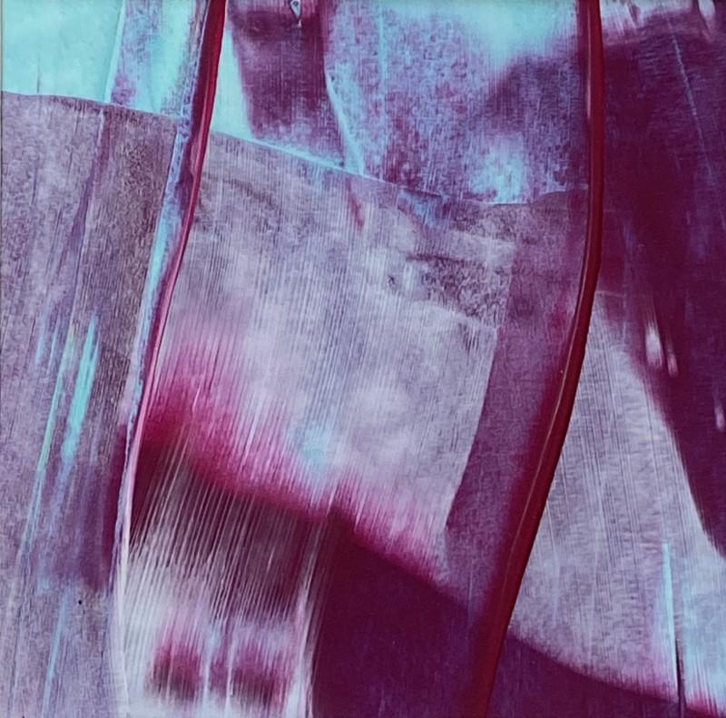Lisa Sharpe, Magenta Veils on Turquoise