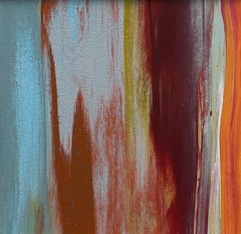 Lisa Sharpe, Autumn Orange with Eau de Nil, 2020