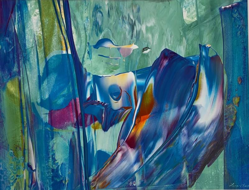 Lisa Sharpe Paintings, Be an Explorer