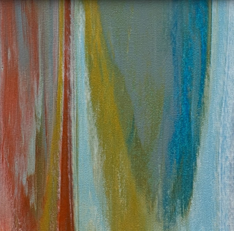 Lisa Sharpe, Soft Ochres with Mellow Blues, 2020