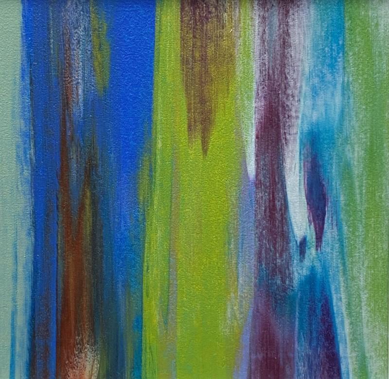 Lisa Sharpe, Luscious Limes & Brilliant Blues, 2020
