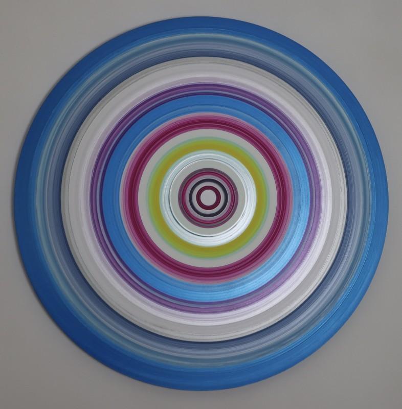 Lisa Sharpe Paintings, Portal Painting - Optimism