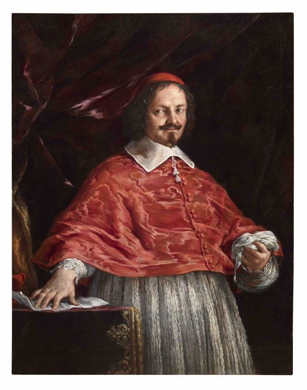 Pietro da Cortona Portrait of the cardinal Guilio Mazzarino Oil on canvas, 126x102 cm Provenance: Turin, Lazzaroni Collection (not exportable outside Italy)