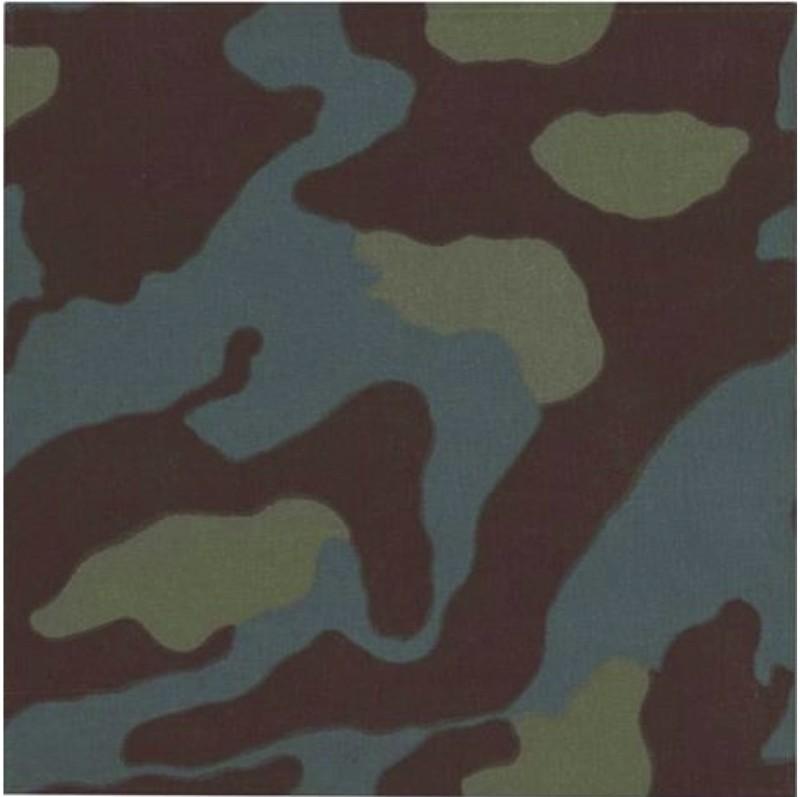 Alighiero Boetti Mimetico (Camouflage) 1967 Camouflage fabric, 45 x 45 cm