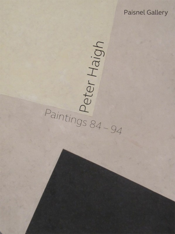 Peter Haigh, Paintings 84-94