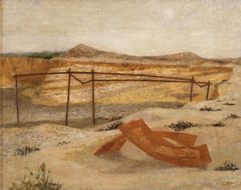 <span class=%22title%22>Deserted Gravel Pit<span class=%22title_comma%22>, </span></span><span class=%22year%22>1946 (c.)</span>