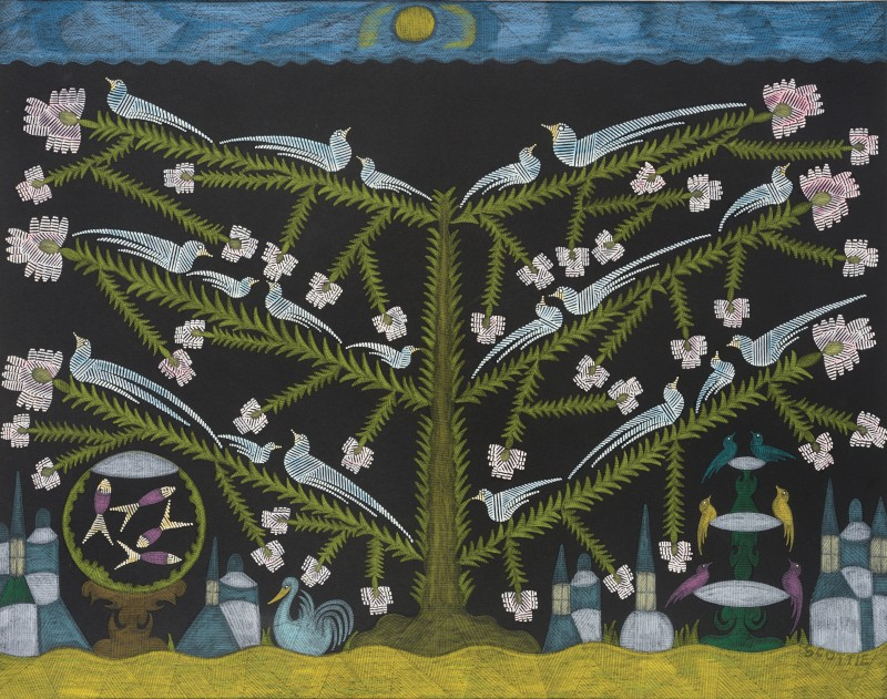 <span class=%22title%22>Untitled (Bird Tree)<span class=%22title_comma%22>, </span></span><span class=%22year%22>c.1960</span>
