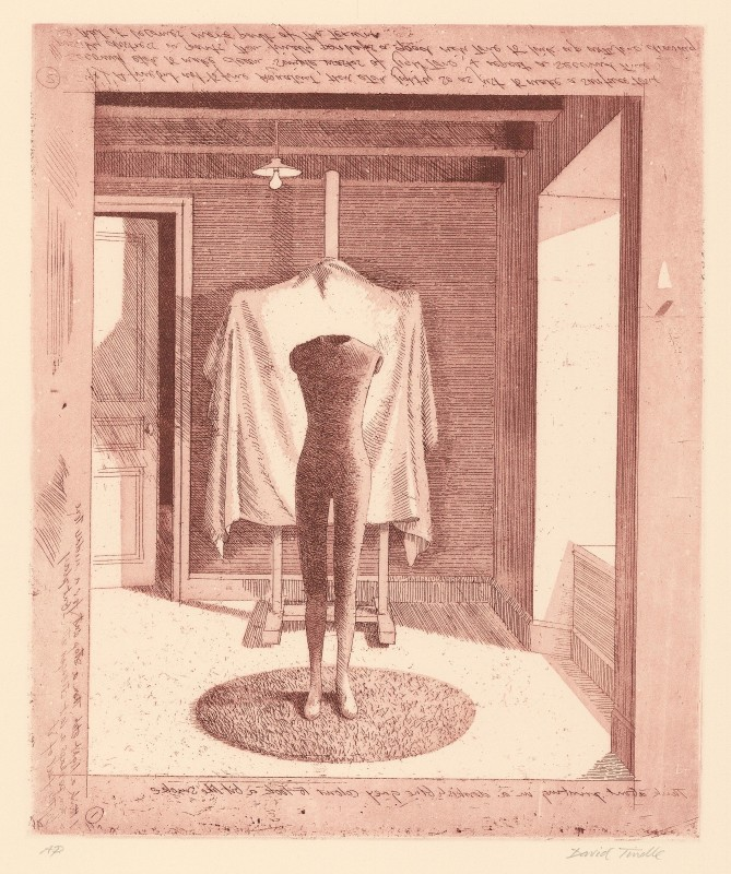 <span class=%22title%22>Mannequin with Covered Easel<span class=%22title_comma%22>, </span></span><span class=%22year%22>1996</span>