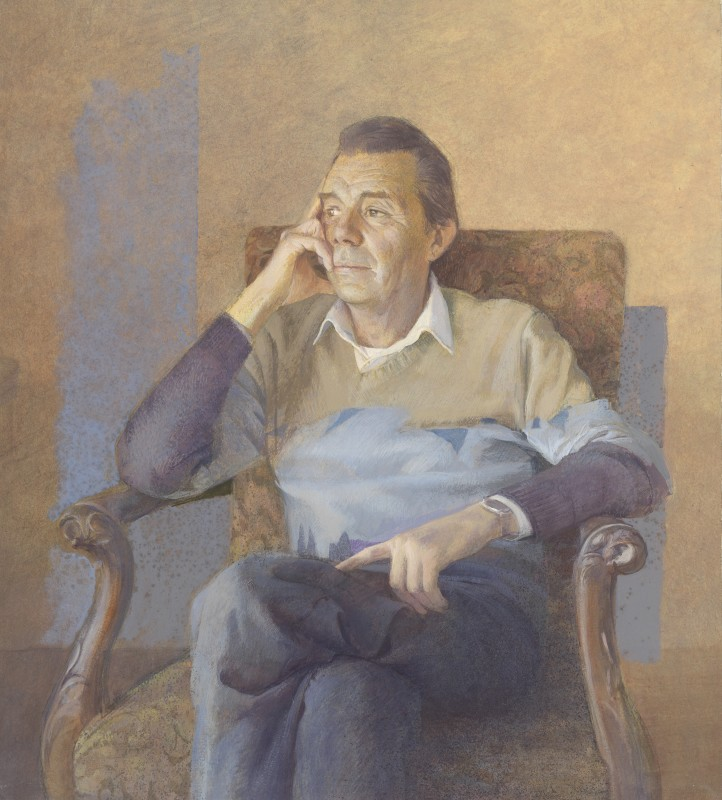 <span class=%22title%22>Portrait study of Dirk Bogarde<span class=%22title_comma%22>, </span></span><span class=%22year%22>1986</span>