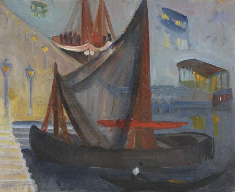 <span class=%22title%22>Fishing Boat with Net at Night<span class=%22title_comma%22>, </span></span><span class=%22year%22>1948 (c.)</span>