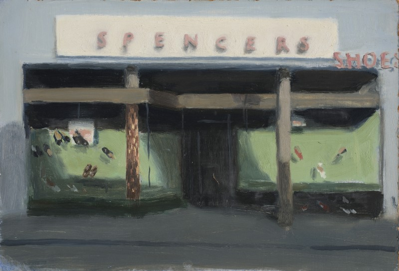 <span class=%22title%22>Shoe Shop at Dusk<span class=%22title_comma%22>, </span></span><span class=%22year%22>1986</span>
