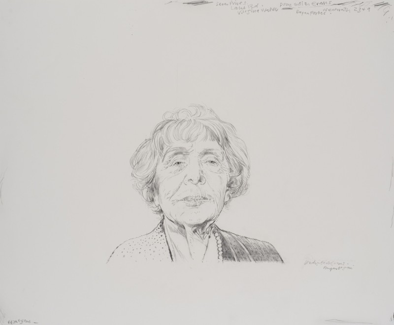 <span class=%22title%22>Study of Edith Evans<span class=%22title_comma%22>, </span></span><span class=%22year%22>1975-76</span>