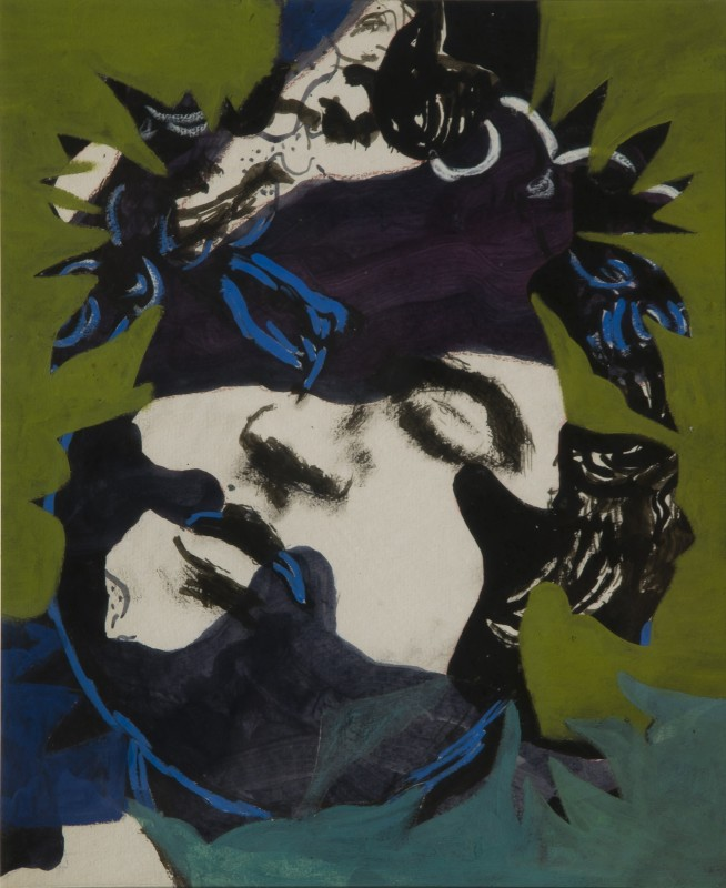 <span class=%22title%22>Untitled (Face and Garland)<span class=%22title_comma%22>, </span></span><span class=%22year%22>1955</span>