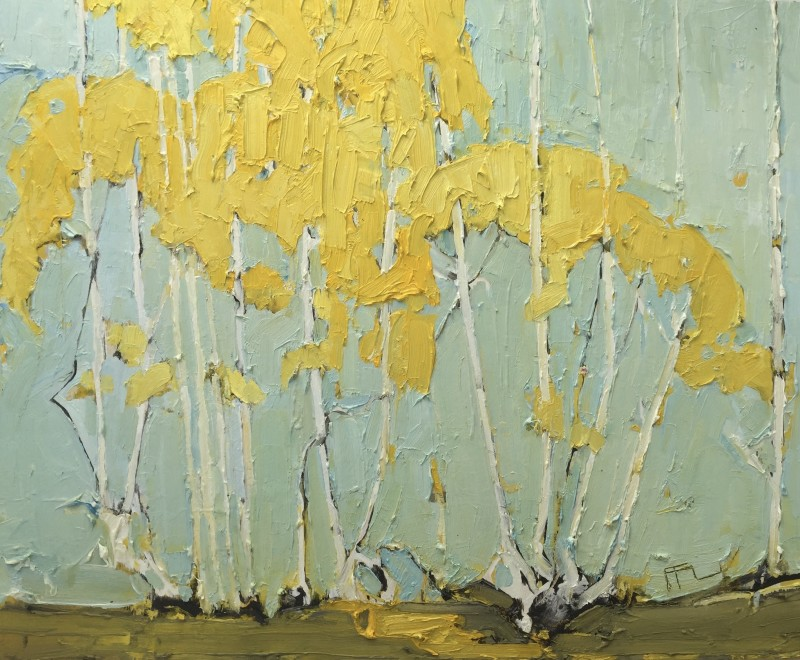 <span class=%22title%22>Golden Birch, Blue Veil<span class=%22title_comma%22>, </span></span><span class=%22year%22>2018</span>