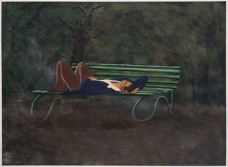 <span class=%22title%22>Man on Bench<span class=%22title_comma%22>, </span></span><span class=%22year%22>1977</span>
