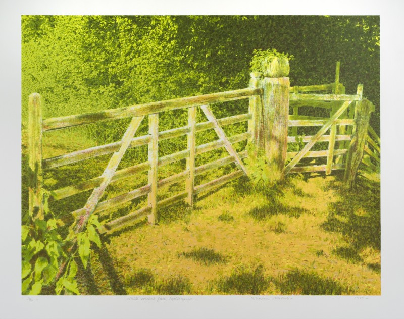 <span class=%22title%22>White Wicket Gate, Nettlecombe<span class=%22title_comma%22>, </span></span><span class=%22year%22>1985</span>