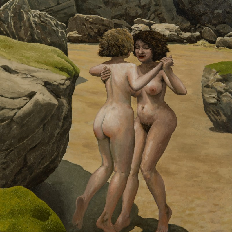 <span class=%22title%22>Two Women Dancing on a Beach<span class=%22title_comma%22>, </span></span><span class=%22year%22>1993-2002</span>