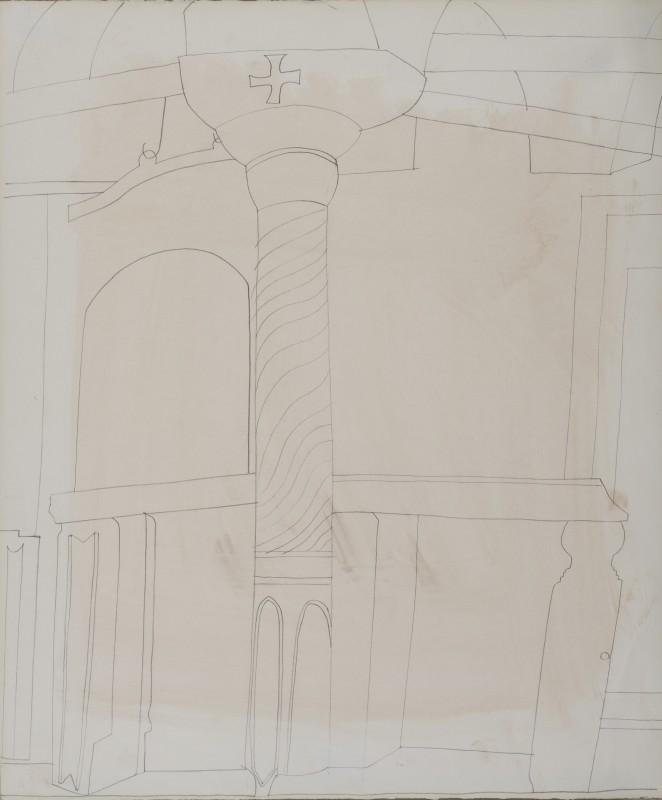 <span class=%22title%22>Pillar in monastery at Patmos<span class=%22title_comma%22>, </span></span><span class=%22year%22>1967</span>