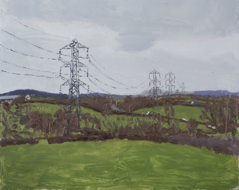 <span class=%22title%22>Pylons on the Edge of a Town </span>