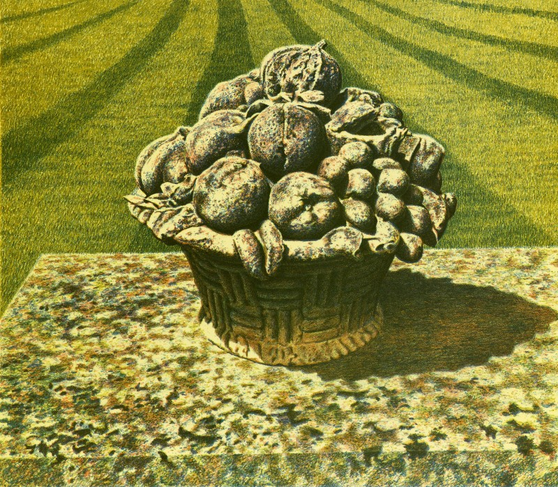 <span class=%22title%22>Ornamental Still Life in an English Italian Garden, Devon<span class=%22title_comma%22>, </span></span><span class=%22year%22>1987</span>