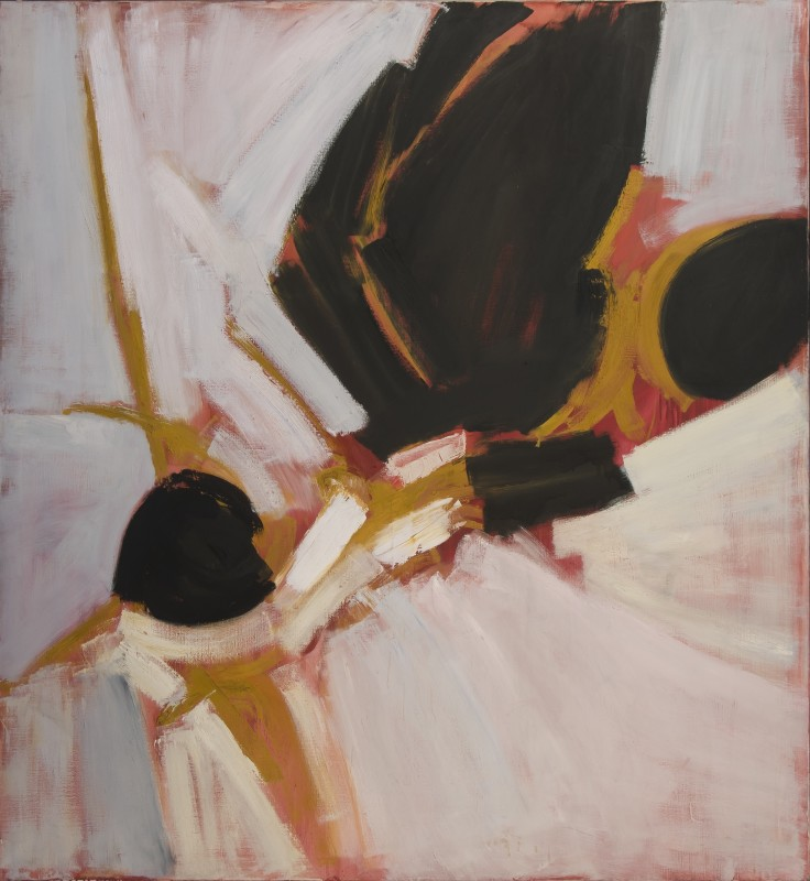 <span class=%22title%22>Painting - Black, White with Pink and Yellow<span class=%22title_comma%22>, </span></span><span class=%22year%22>1959</span>