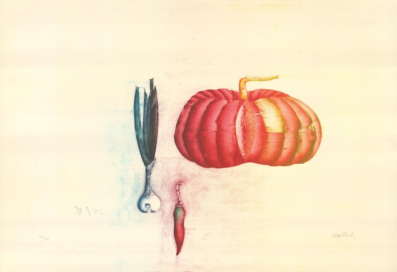 <span class=%22title%22>Still Life with Melon<span class=%22title_comma%22>, </span></span><span class=%22year%22>1988</span>