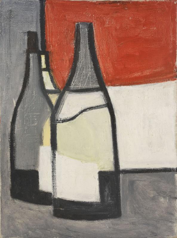 <span class=%22title%22>Bottles and Snow Field<span class=%22title_comma%22>, </span></span><span class=%22year%22>1952-54 (c.)</span>