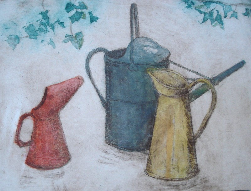 Hilary Adair RE, The Red Oil Can