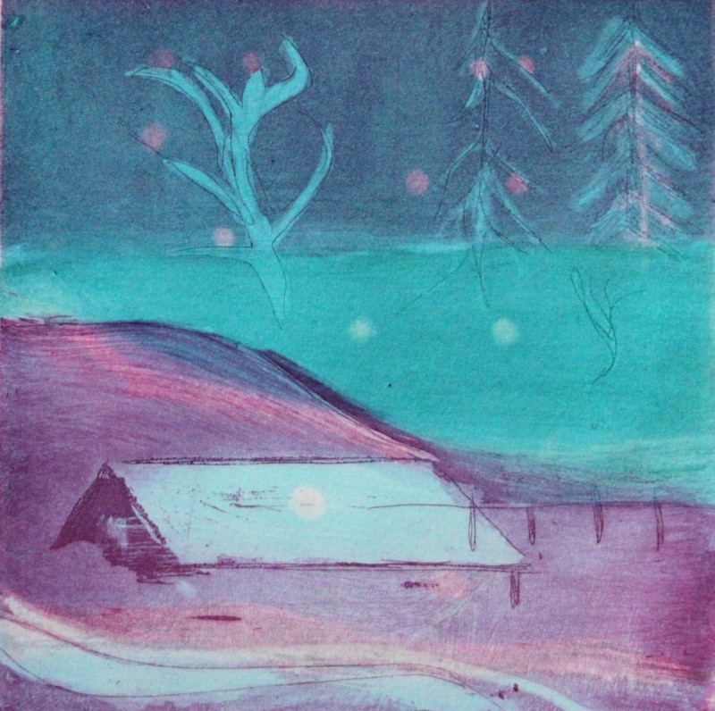 Louise Davies RE, First Snow