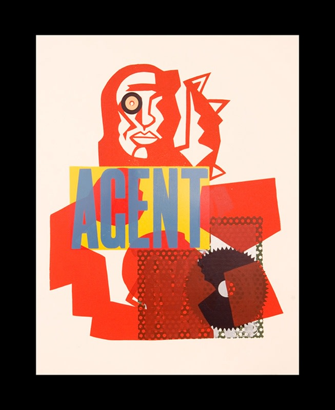Simon Redington RE, Agent