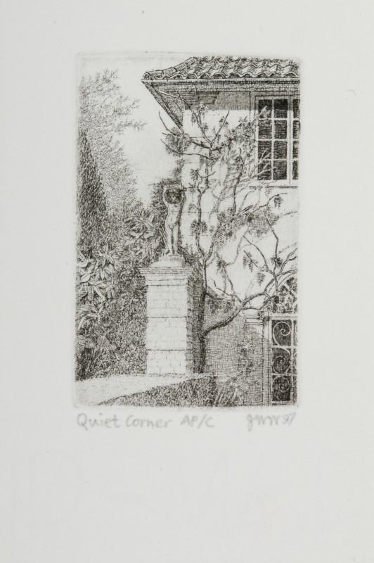 Joseph Winkelman PPRE Hon RWS, Quiet Corner