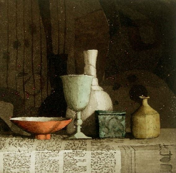 Annie Williams RWS RE, Wednesday Still Life