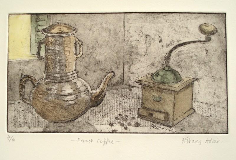 Hilary Adair RE, French Coffee