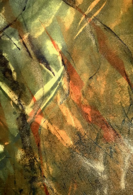 Jackie Newell RE, Reflections of Spring During Lockdown 2020 no.4