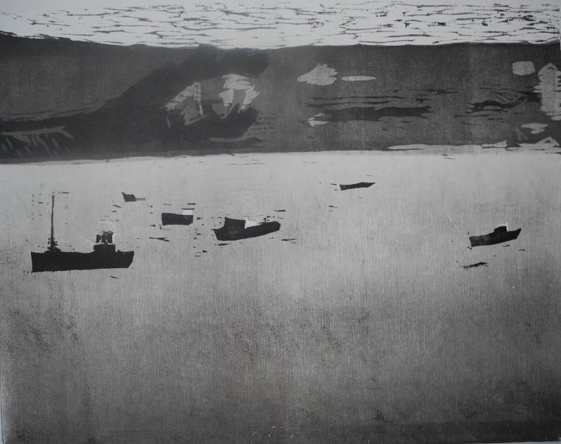 Adrian Bartlett RE, Swanage Bay
