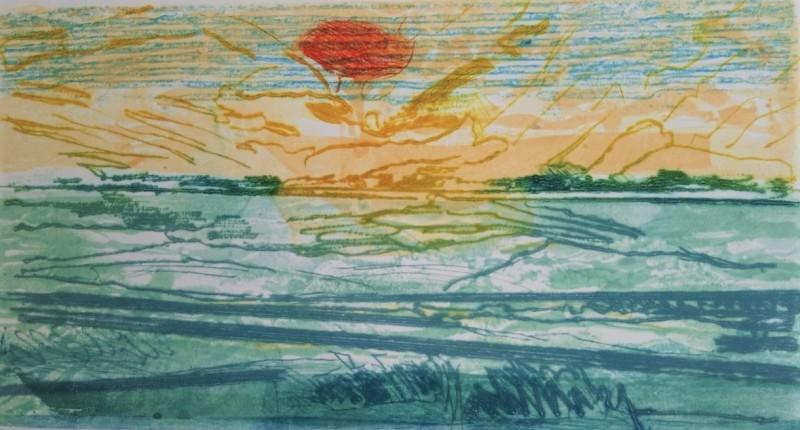Daphne Casdagli RE, Yonder Sunset