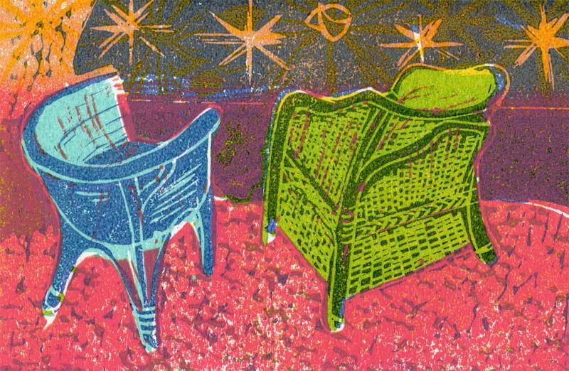 Jane Brigstock ARE, Empty Chairs