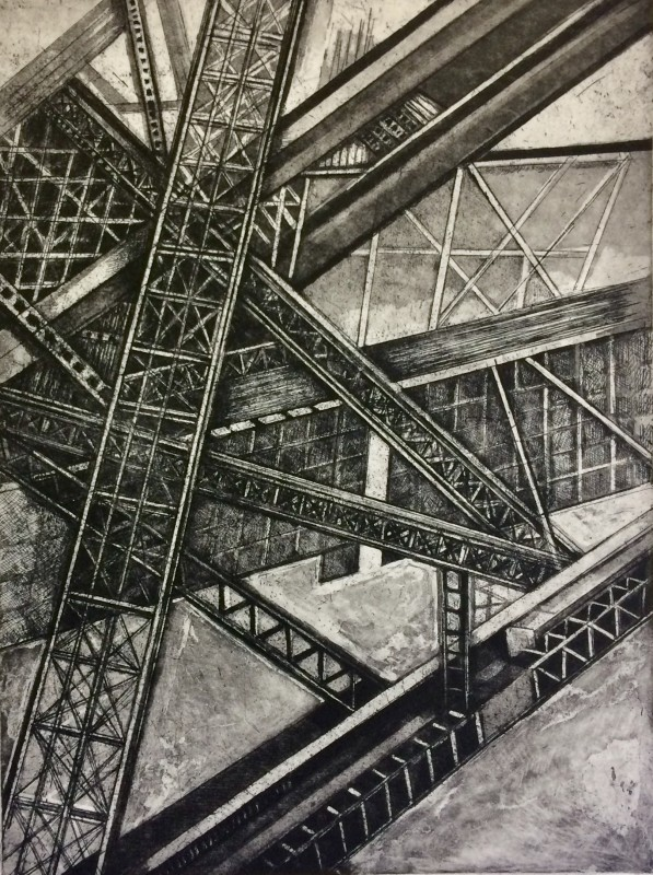 Jackie Newell RE, Under Sydney Harbour Bridge 1