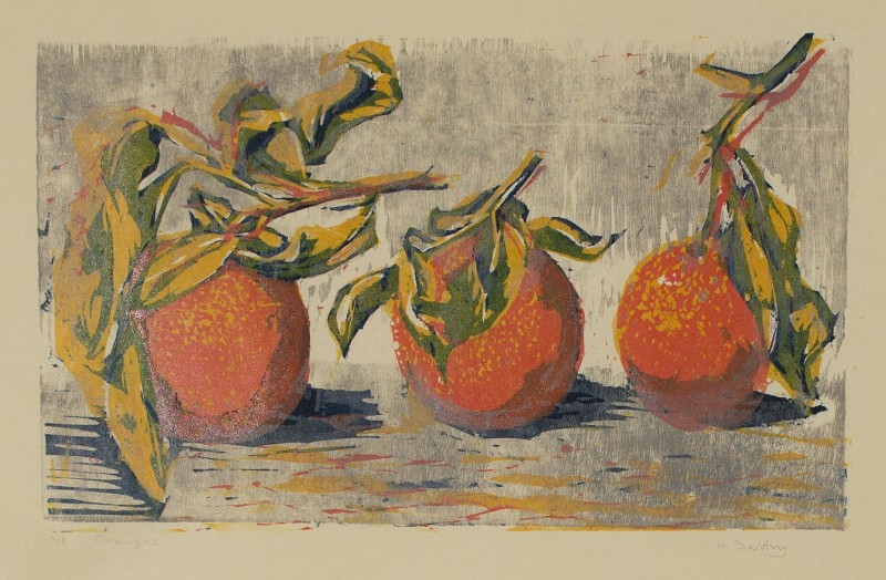 Hilary Daltry RE, Oranges
