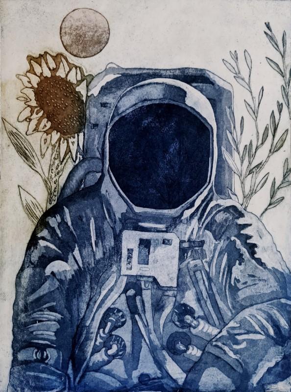 Linda Landers RE, Astronaut