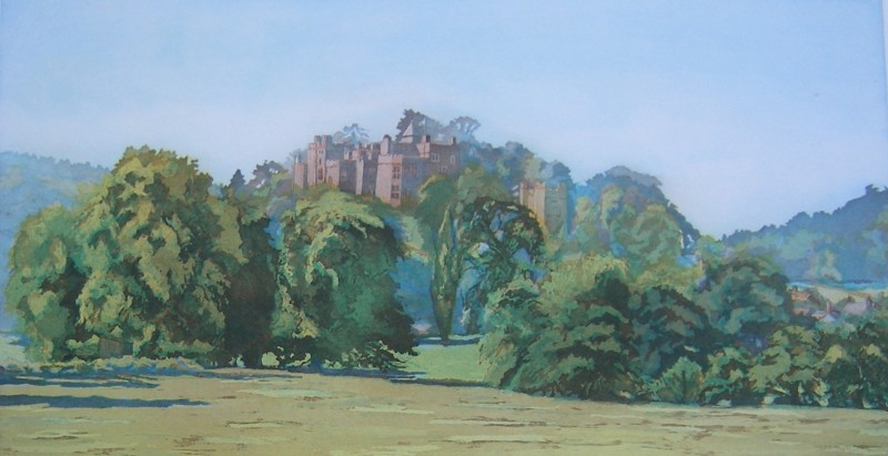 Ann Le Bas RE, Duster Castle and Park