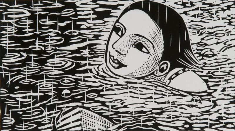 Anita Klein PPRE Hon RWS, Swimming in the Rain