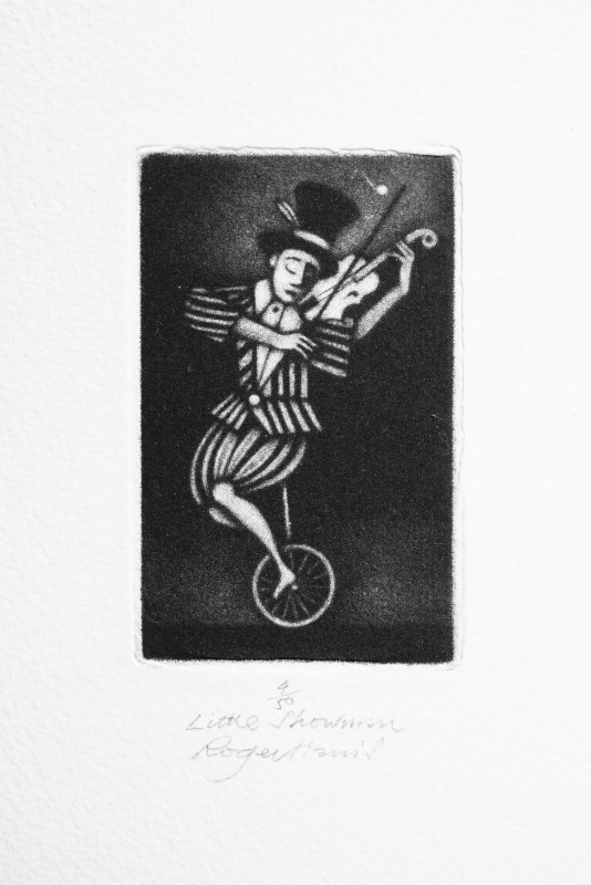 Roger Harris RE, Little Showman