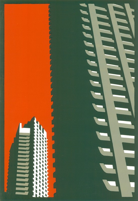 Paul Catherall RE, Barbican Orange
