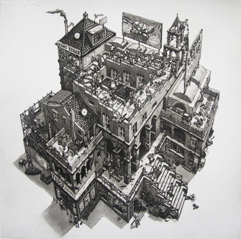 Martin Langford RE, After Escher